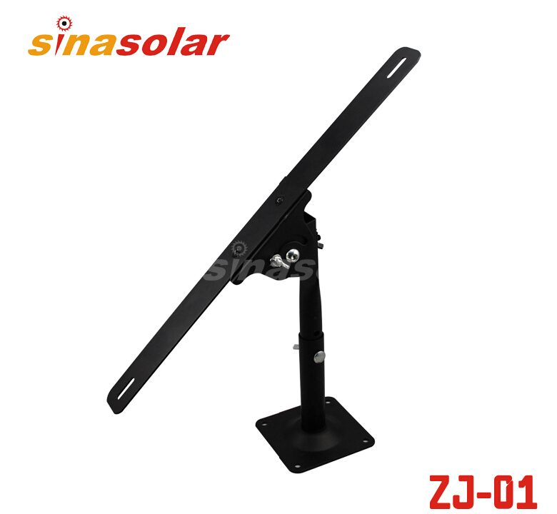 200~275mm Metal HDG 360 Degree Universal Adjustable Wall Pole Triangle Solar Panel Mounting Bracket For Mount On Wall/Ground
