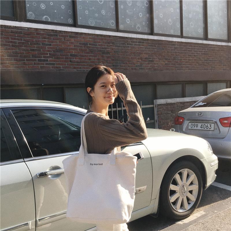 2018 Eco Recyclable Packaging Bag Shopping Bags Reusable Cloth Supermarket  letter Tote Fashion Shape letter