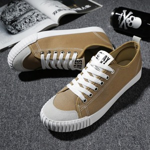 Image 3 - WOLF WHO New Gray Sneakers Men canvas Lace up Casual shoes Male Breathable Espadrilles Man Plimsolls buty meskie krasovki X 065