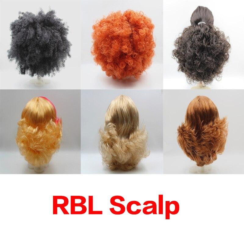 RBL Scalp Blyth Doll Scarf Wig includes Hard Dome86RBL Scalp Blyth Doll Scarf Wig includes Hard Dome86
