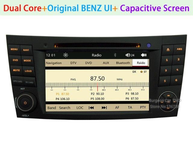 hd touch capacitive screen car dvd player for mercedes benz clk cls rh aliexpress com GE Toploader DVD Player 9 Inch Portable DVD Player
