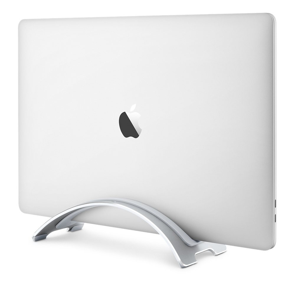 Support Vertical portatif de support de bureau debout d'alliage d'aluminium en métal pour l'ordinateur de MacBook Pro Air 13 Retina iPad