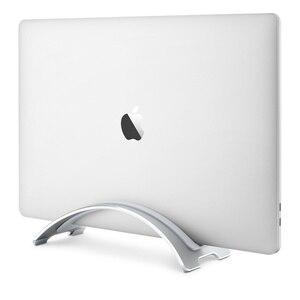 Portátil de Metal de aleación de aluminio Vertical Stand de escritorio Notebook soporte para MacBook Pro Air 13 Retina iPad ordenador