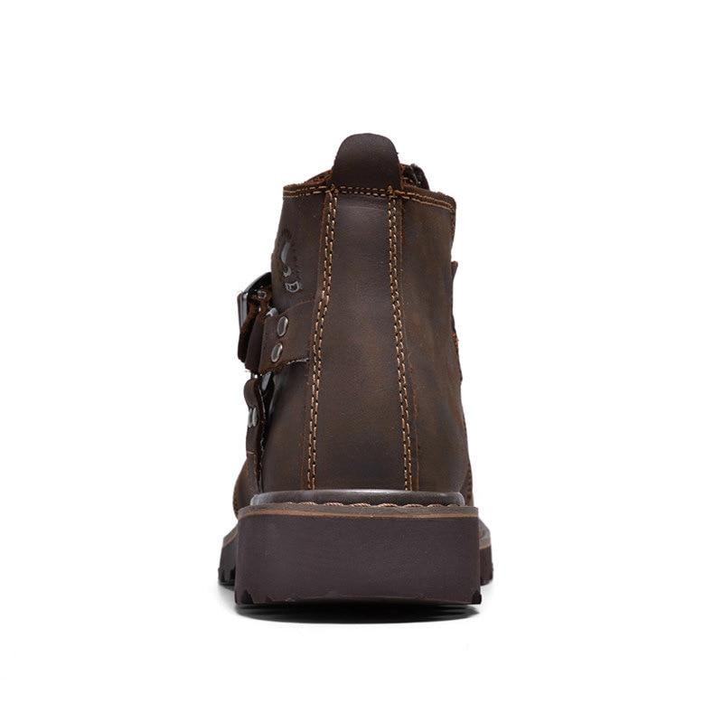 Genuíno on Prova Homens Moto Light Dos top Respirável dark Sapatos High D' Brown Brown Água 2019 De Slip E À rwqfA1rn