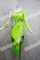 latin fringe dress Rumba Jive Chacha Latin Dress Dance ballroom dress dance.NEW!
