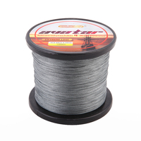 SOLOPLAY 1000m 1Meter 1Color Green Grey Braided Fishing Line 10 12 15 20 25 30 40