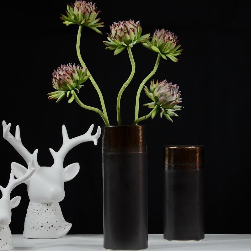 6pcs 60cm Upscale Handmade Artificial Flower Decoration Simulation Decorative Artichoke Flower Festival Wedding Home Room Decor