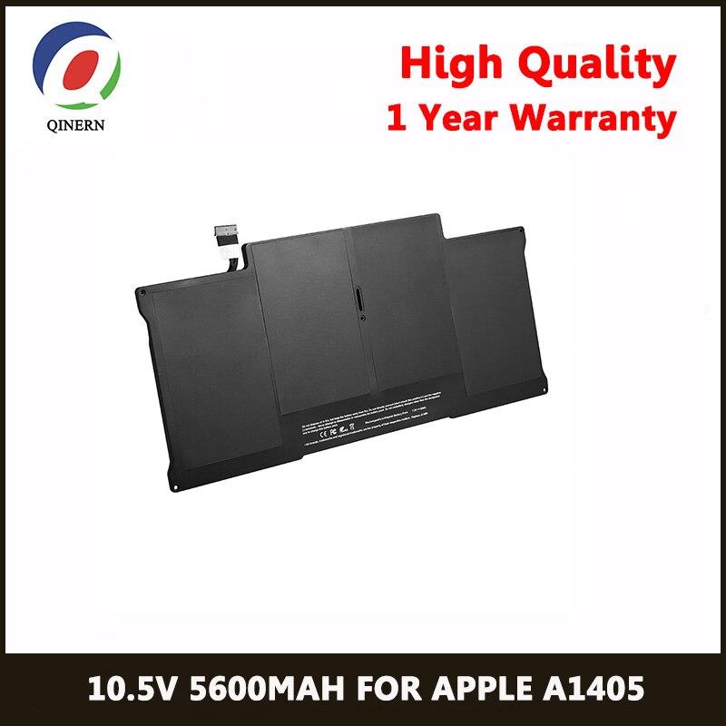 QINERN 10.5 V 5600 MAh Portable Batterie D'ordinateur Portable Pour APPLE AP1405 pour Macbook Air 13
