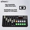 Беспроводная зарядка DMX consolee30 сценическое оборудование управления для диско-клубов DJ контроллер LED плоский Par/движущаяся головка/точечное о...