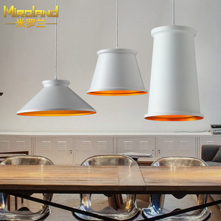 ФОТО ABC band chandelier modern minimalist art bar restaurant lighting Lamps lighting Scandinavia