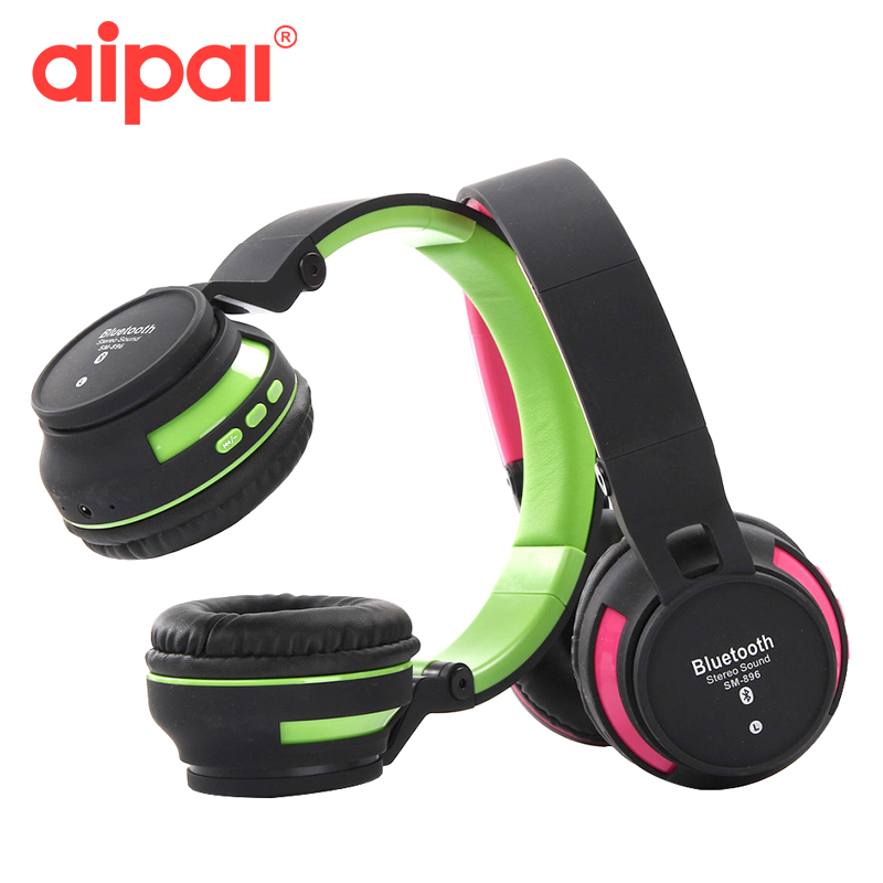 Aipal Wireless Headphones/headset bluetooth 4.2 Bass Stereo foldable Bluetooth headset with microphone for Iphone android phone