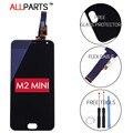 100% Испытанное в Исходном 5 ДЮЙМОВ Черный 1280x720 Дисплей Для Meizu M2 Mini ЖК-ДИСПЛЕЙ с Сенсорным Экраном Дигитайзер Запасные Части