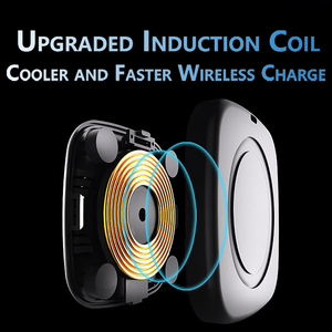 Image 4 - Qi Magnetic Car Wireless Charger Magnet for iPhone X XS 8 10W Fast Wireless Charging Phone Induction Charger for Samsung S8 S9