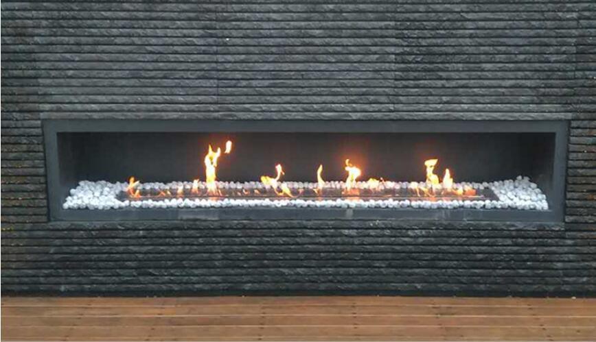 72  Inch Real Fire Intelligent Smart Bio Ethanol Fire