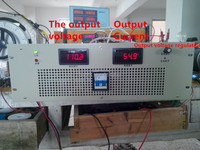 Free Shipping New High Power Switching Power Supply 36V 165A 6000W Adjustable Output Voltage Of 0