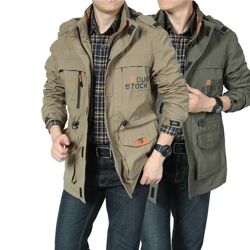 Աշնանային բաճկոն տղամարդիկ ռումբի - Տղամարդկանց հագուստ - Լուսանկար 5