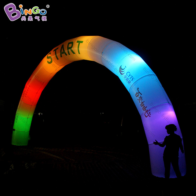 Free shipping 9m LED lighting inflatable arch archway for advertisement high quality arch balloon for promotional arch toy arch erotic fantasy black dots типсы для ногтей из акрила