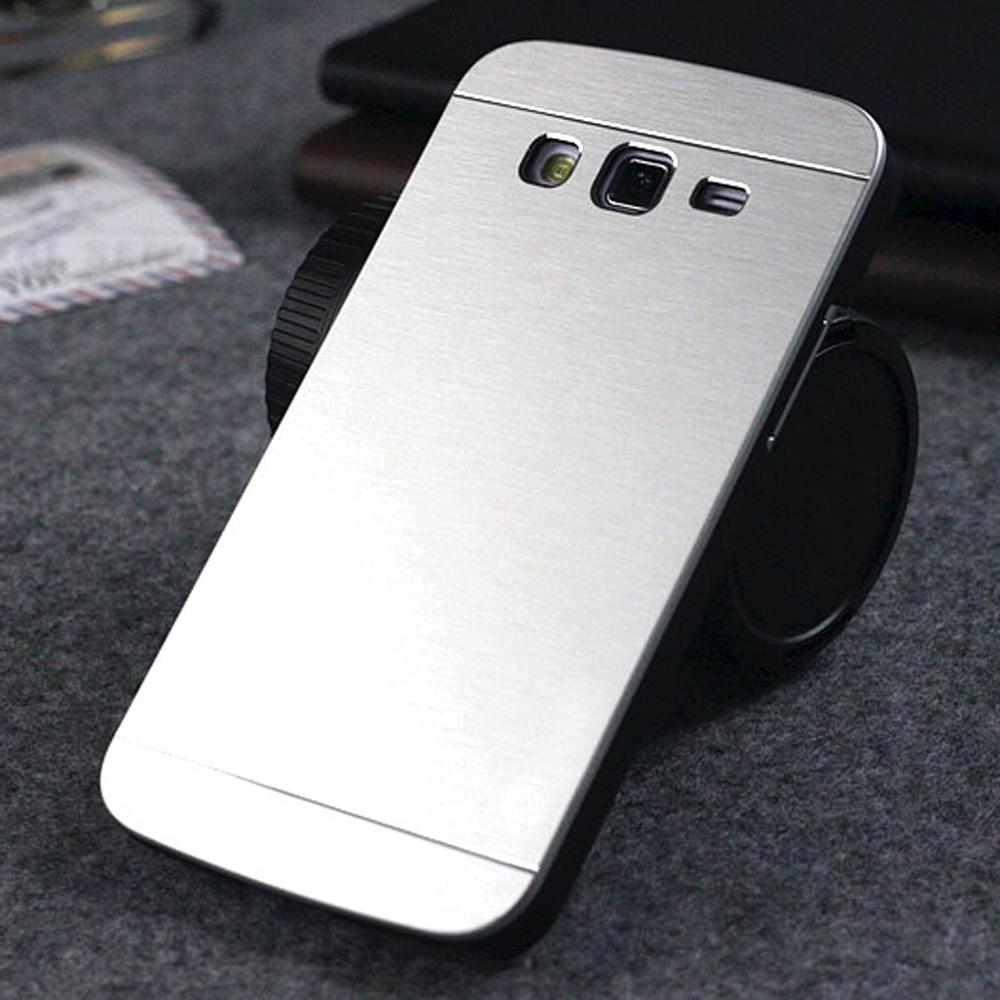 buy online 94c55 e84d6 US $5.4 |For Samsung Galaxy Grand Duos GT I9082 I9080 & NEO I9060 I9062  Plus I9060i Luxury Brush Aluminum Metal Cases Shell Back Cover on ...