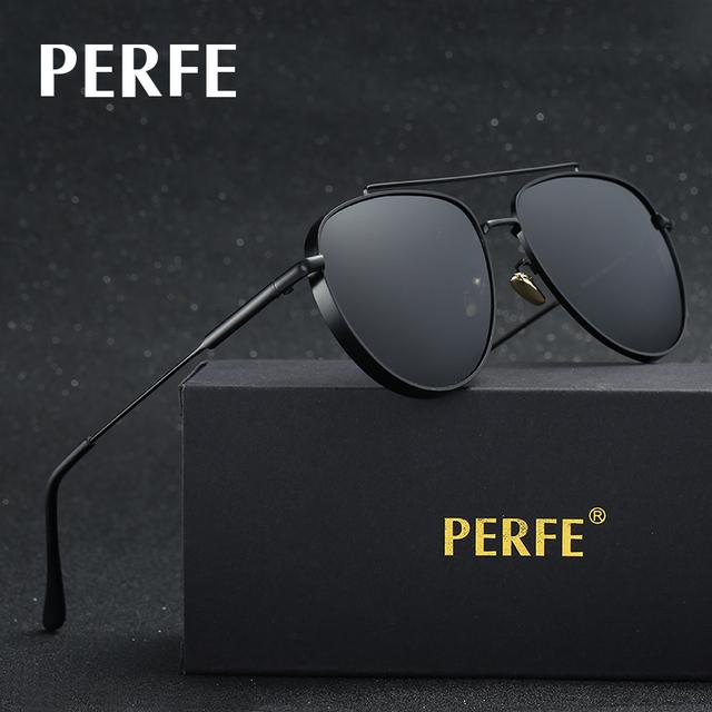 Cego PERFE marca de alta qualidade 2017 óculos de sol dos homens do vintage óculos de sol mulheres polarizada luxo zonnebril gafas de sol hombre
