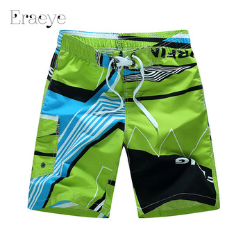 ERAEYE M - 6XL Plus Size Men Beach Shorts Quick Drying Shorts Sea Trousers Soft Homme Breathable Men