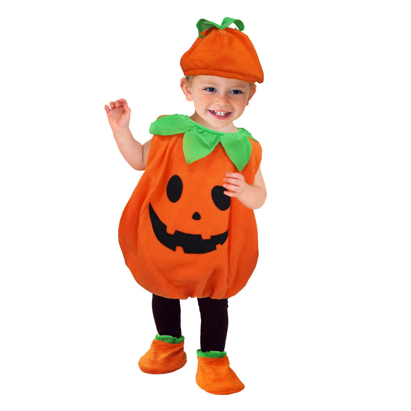 Umorden Halloween Costumes Toddler Baby Pumpkin Costume Cosplay for Baby Girl Boy Fancy Dress