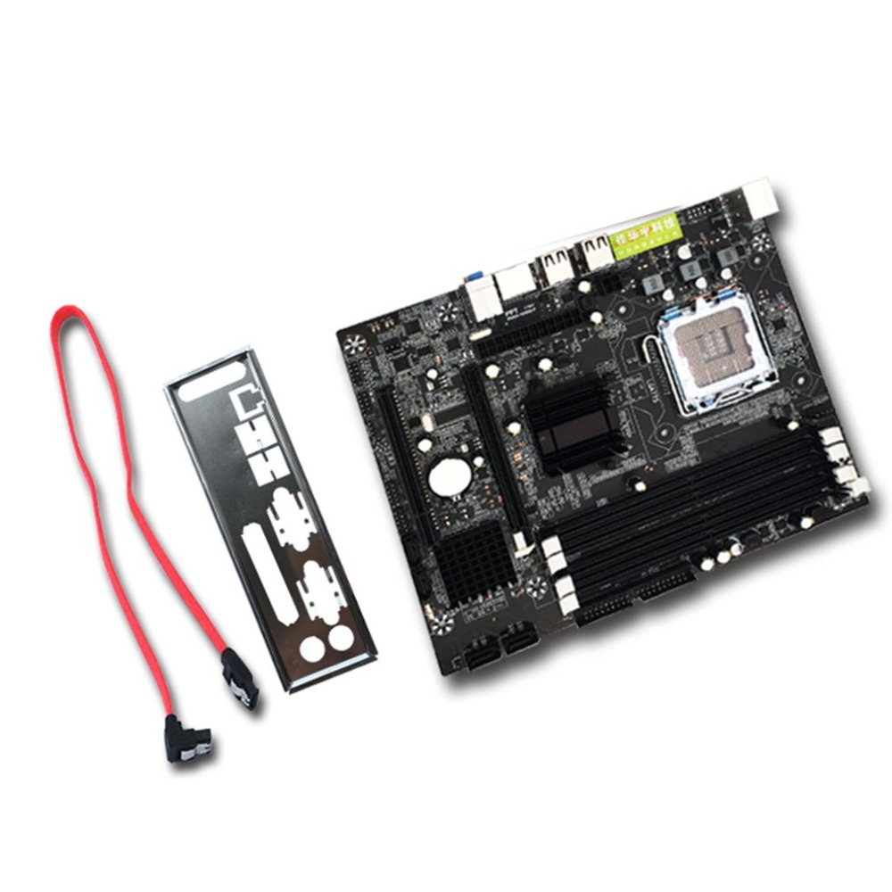 Hot sale Socket 771/ 775 Practical Desktop Computer Mainboard For Intel P45 Supports 4 Slots DDR2 800 Dual Channel Motherboard