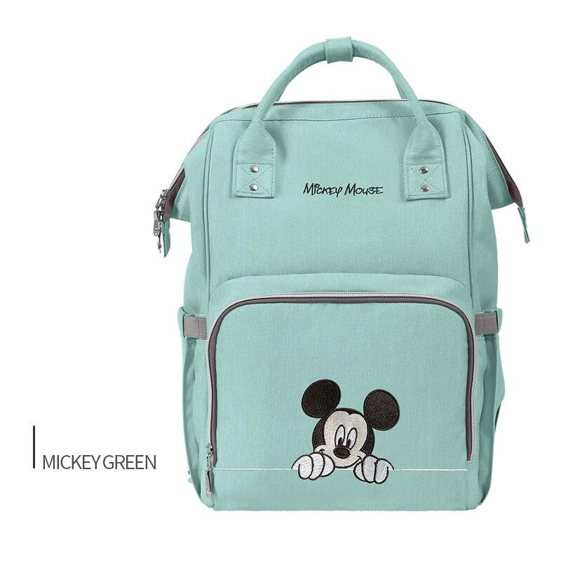 Disney большой Ёмкость Bolsa Maternidade детские пеленки мешок коляска пеленки мешок Baby Care Пеленки сумки рюкзак перемещения