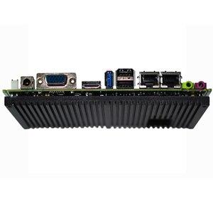 Image 3 - Fanless Intel J1900 Quad Core Processor ITX Motherboard Dual LAN Mainboard Mini PCIE WIFI mSATA SATA industrial motherboard