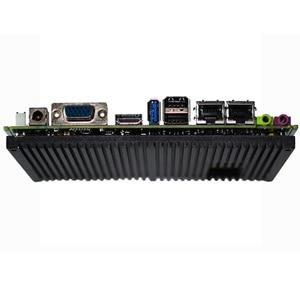 Image 3 - Fanless Intel J1900 Quad Core Prozessor ITX Motherboard Dual LAN Mainboard Mini PCIE WIFI mSATA SATA industrielle motherboard