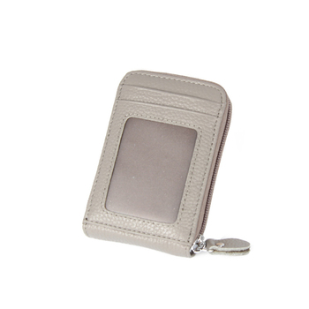 Women's Small Leather RFID Wallet Bags and Wallets Hot Promotions New Arrivals Women's Wallets Color: Grey Ships From: China