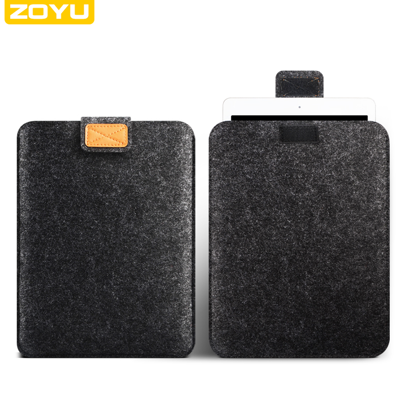 ZOYU Soft Sleeve Bag Case Pouch Tablet Cover for  iPad Mini 1/2/3/4 7.9 iPad Air/2 iPad Pro 9.7 Anti-scratch Shockproof for ipad mini4 cover high quality soft tpu rubber back case for ipad mini 4 silicone back cover semi transparent case shell skin