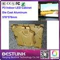 Оптовая 576*576 мм сид литой алюминиевый корпус rgb p3 внутренний светодиодный видео стены, светодиодные рекламный щит для рекламы светодиодный знак двери