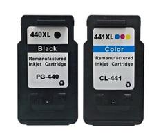 1 Компл. Для Canon 440 441 PGI440 CLI441 Картридж Для Canon MG2180 MG3180 MG4180 MG4280 Струйный Принтер Бесплатная Доставка Горячей Продажи