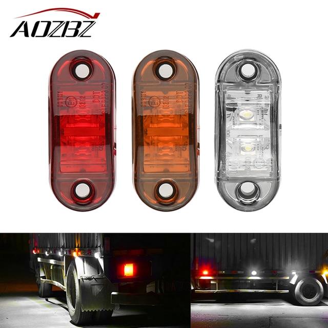 12 24 V Led Side Marker Blinker Verlichting Voor Trailer ...