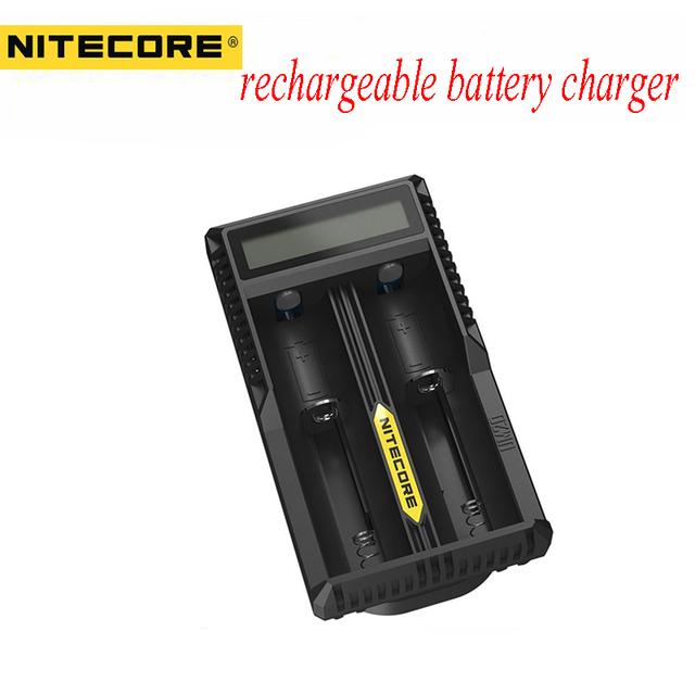 Hot Sale Nitecore UM20 18650 Bateria De Lítio Carregador Digicharger Display LCD USB para 17500 14500 Baterias de iões de lítio de Carregamento