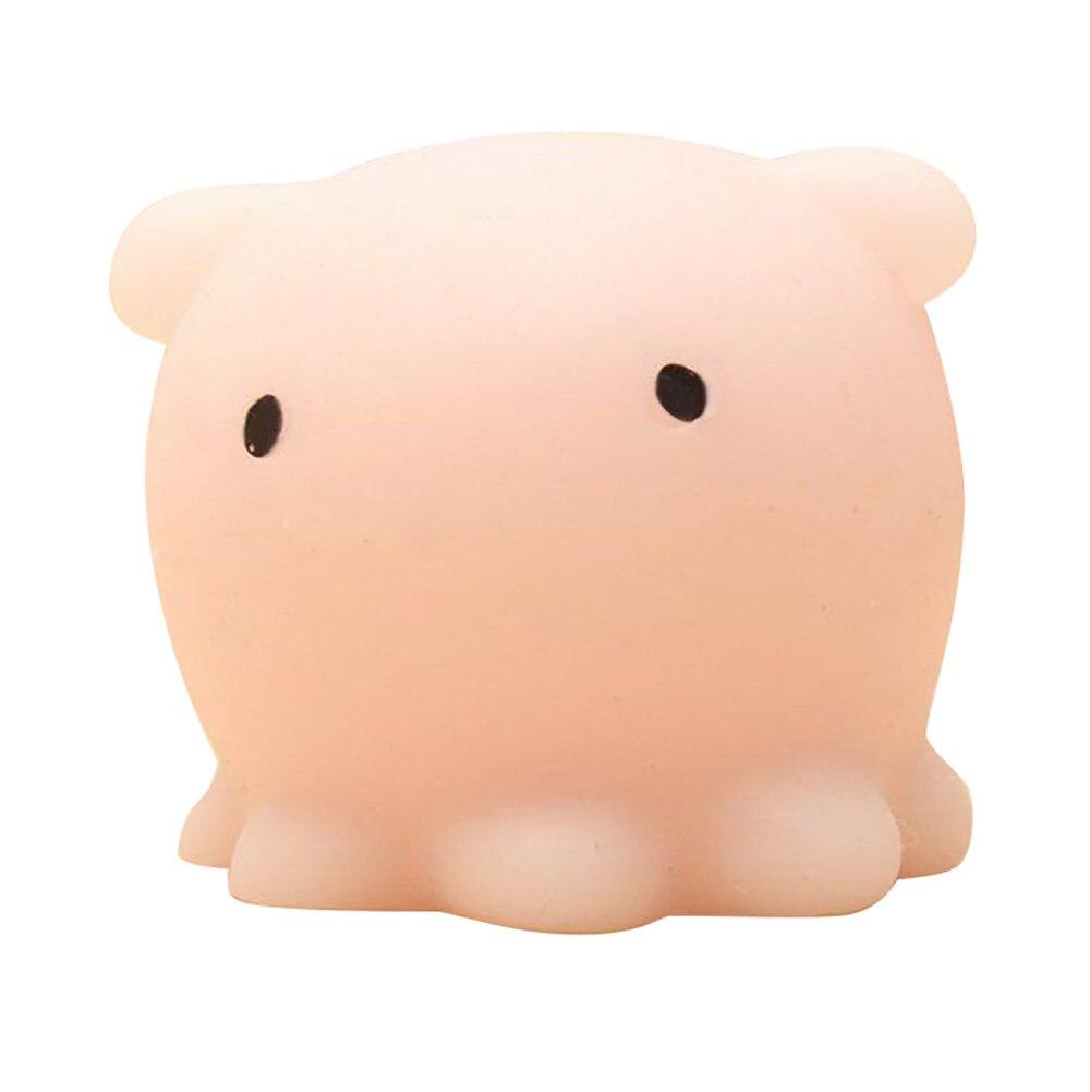 Весело мягкими мило Осьминог squeeze Исцеление забавная игрушка подарок снять стресс Декор Juguetes educativos Игрушки-приколы