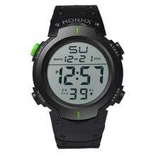 Fashion Men Digital Watches Waterproof Mens Sport Quartz Wristwatches Relogio Masculino Military Army LED Men Electronic watches
