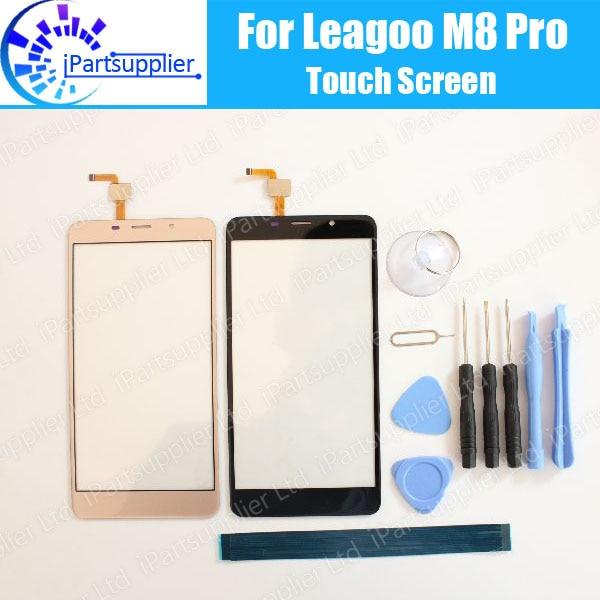 Leagoo M8 pro panel de pantalla táctil 100% garantía nueva original panel de cristal pantalla táctil para leagoo M8 PRO + herramientas