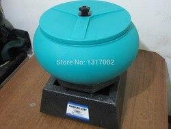 Capacidad 6 kg tamaño mediano vaso vibratorio, máquina pulidora de escritorio oro/plata pulido limpieza molienda grabador