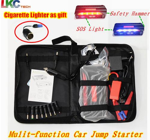 High power Car Jump Starter safety Car Starter Portable Charge Auto Emergency Power Car Booster Power Bank