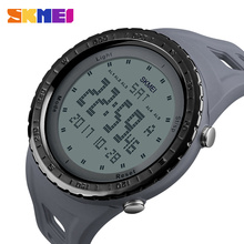SKMEI Men Sports Watches Double Time Chrono EL Light Digital Wristwatches 50M Waterproof Alarm Watch Relogio Masculino 1246 skmei brand digital watch men sports watches countdown double time wristwatches relojes 50m waterproof relogio masculino 1251