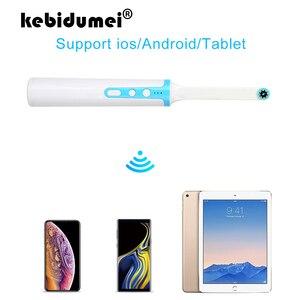 Image 1 - HD Video Drahtlose Wasserdichte Zähne Inspektion Endoskop Wifi Dental Kamera Oral Endoscopio Für Iphone Android Handy Tablet PC