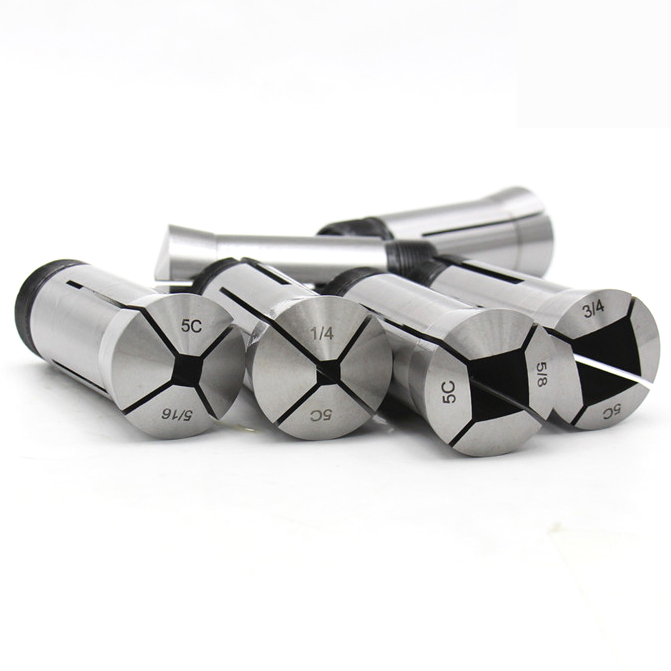 6pcs set square hole type 5C collet spring collet range from 4mm 6mm 8mm 10mm 12mm
