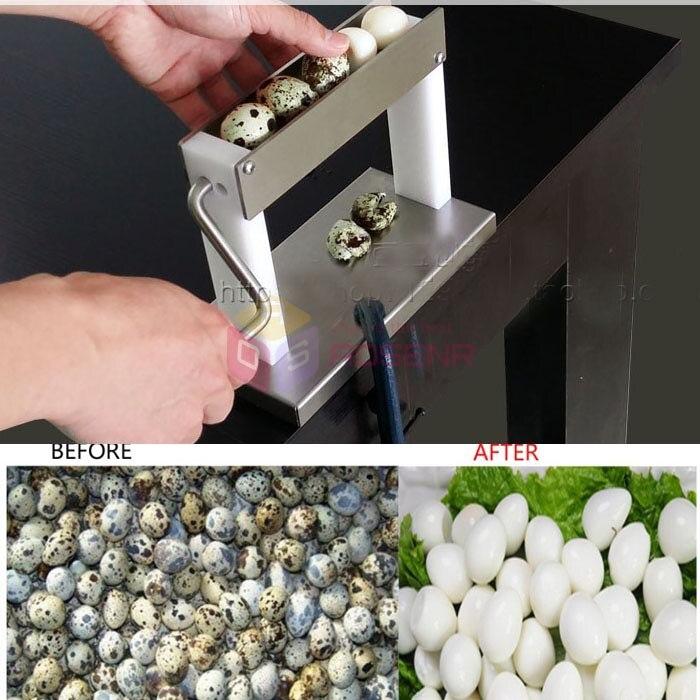 Practical Household Manual Quail Egg Peeler Machine Huller Machine Sheller Machine