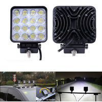 4 2 Inch 48W LED Work Light 12V LED Tractor Work Light Flood Spot Beam Offroad