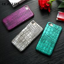 Retro Crocodile Snake Leather Case For iPhone XS MAX XR X 8plus 7 6 6s Plus PC Hard Protective Cover Couque For iphone XS X case стоимость