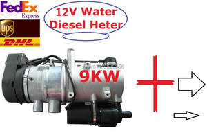 Water Diesel Heater For Bus Truck RV Motorhome Similar With Webasto Parking Heater