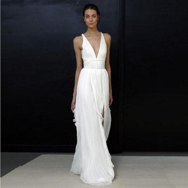 2017 mantel Brautkleider für Griechische Göttin Einfache Bräute ...
