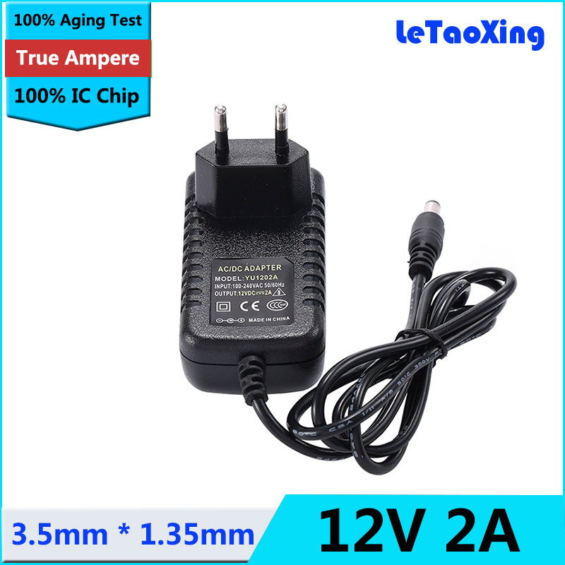 AC 110~240V to DC 3.5mm*1.35mm 5V 2A Switching Power Supply Adapter Transformer
