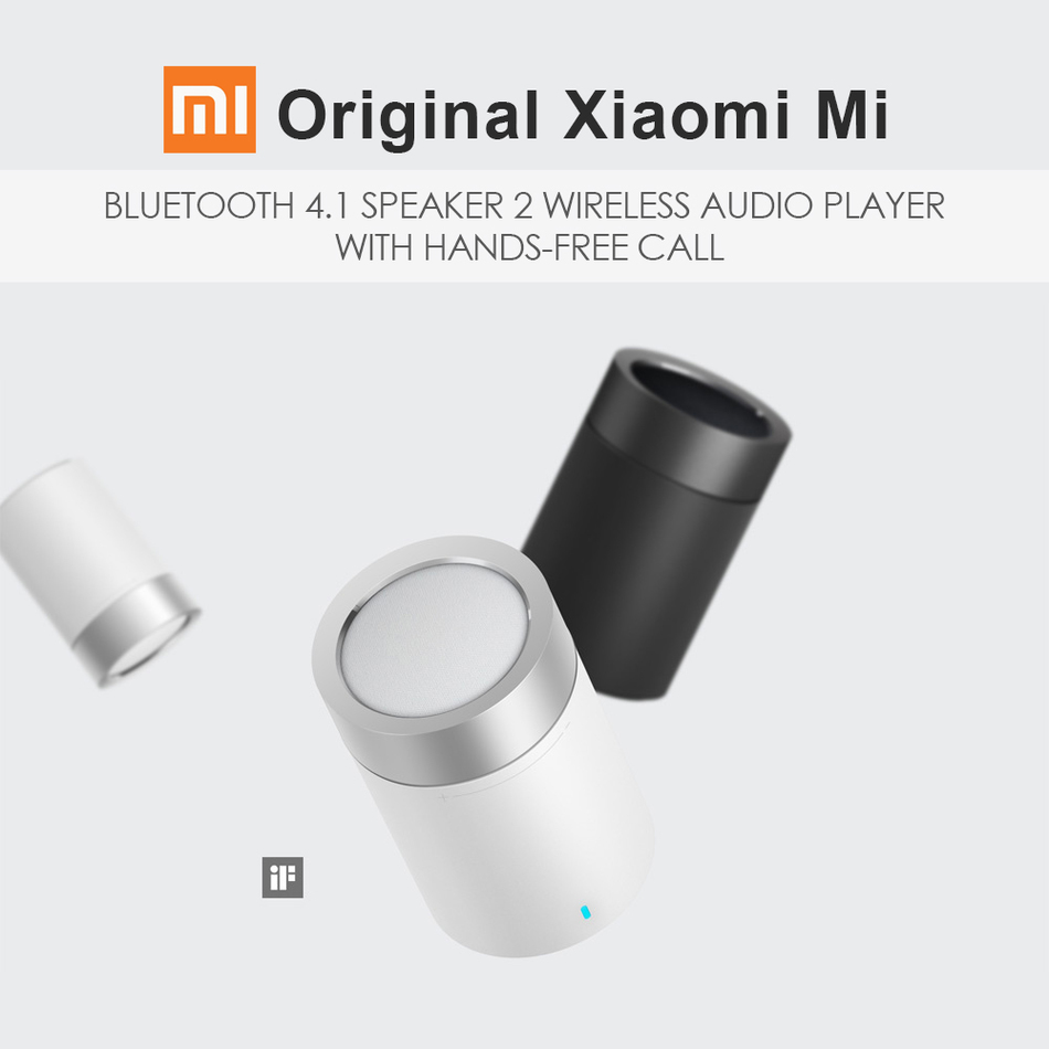 Original Xiaomi Mi Speaker 2 Bluetooth 4 1 Portable Mini